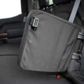 TigerTough seat cover does not restrict storage door functionality