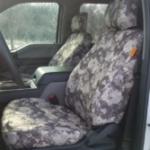 Ford F150 with TigerTough Western Viper seat covers.