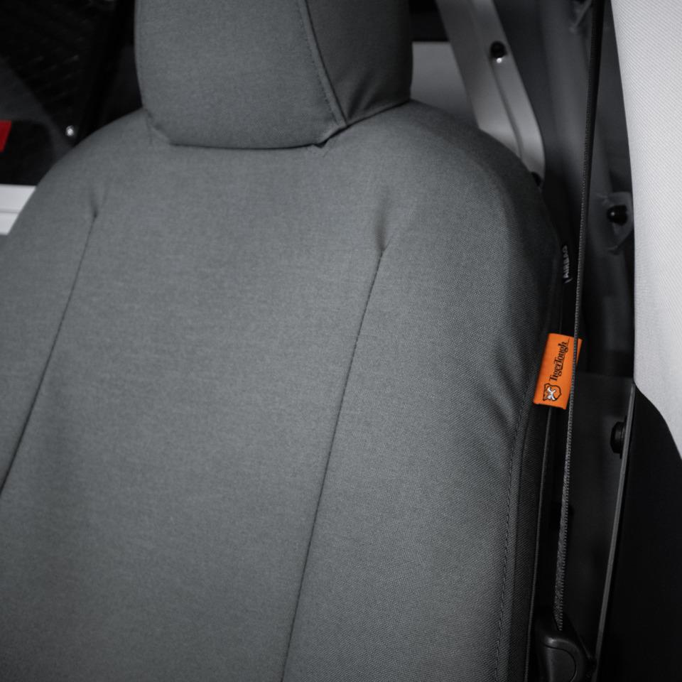 TigerTough Tactical Seat Covers on Tesla Model Y Tesla Model 3