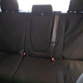 TigerTough seat covers for Toyota Tundra CrewMax rear seats  - black Cordura fabric